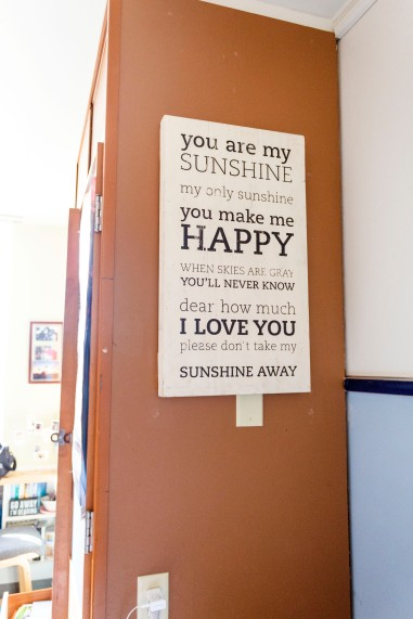 Sunshine Box Sign